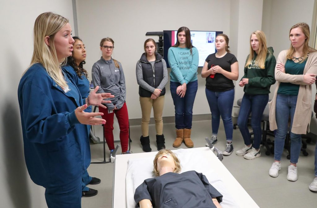 HEALTH CAREERS CLUB For more information on the Health Careers Club for area high schoolers, contact Brandon Drozd at 308-865-8907 or drozdbc@unk.edu